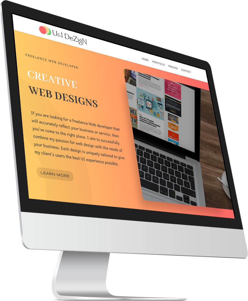 Free website design quote